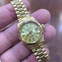 Rolex Datejust  18K Gold Watch 26mm