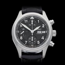 IWC Pilot's Chronograph Stainless Steel Gents IW370613