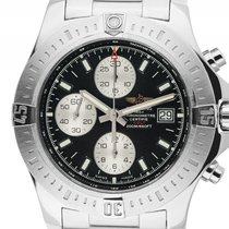 Breitling Colt Chronograph Stahl Automatik Armband Stahl 44mm...
