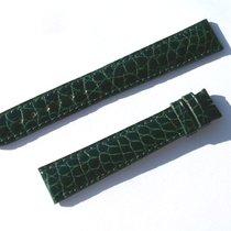 Chopard Croco Armband Grün Green 16 Mm Für Dornschliesse...