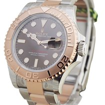 Rolex Unworn 116621 Yachtmaster 2-Tone 40mm with Rose Gold...