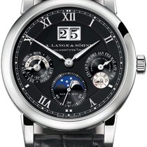 A. Lange & Söhne Langmatik Perpetual Black Dial 18K White...