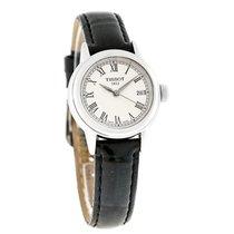 Tissot Carson Ladies Black Satin Strap Swiss Quartz Watch...