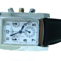 Longines Dolce Vita Chronograph 18K White Gold Mens Watch
