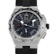 Bulgari Diagono X-Pro Men's Stainless Steel Chronograph...