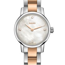 Rado R22890942 Coupole Classic Pearl Diamonds Ladies Watch