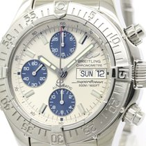 Breitling Polished Breitling Chrono Superocean Steel Automatic...