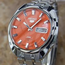 Seiko 5 Dx Mens Automatic Made In Japan Stainless Steel 1970s...