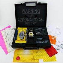 Breitling EMERGENCY Prof. E56321 Titan LC100 + FULLSET + REVISION