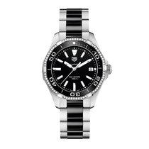 TAG Heuer Aquaracer 35mm Date Quartz Ladies Watch Ref WAY131G....