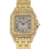 Cartier Ladies Cartier Panthere 18K Yellow Gold & Diamonds