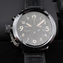 U-Boat Flightdeck 50 Chronograph Black Ceramic Shiny