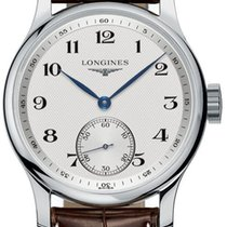 Longines Master Collection Manual Wind Steel Mens Strap Watch...