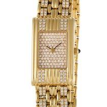 Boucheron Les Montres 18K Yellow Gold Diamond Watch with...