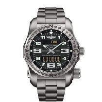 Breitling Men's E7632522/BC02/159E Emergency Titanium...