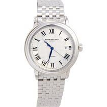 Raymond Weil Maestro Silver Dial Stainless Steel Mens Watch...