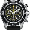 Breitling Superocean Chronograph II Abyss Yellow Satin