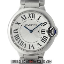 Cartier Ballon Bleu Collection Mid-Size 36mm Stainless Steel...