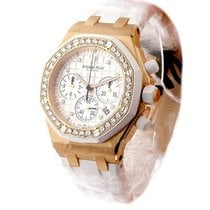 Audemars Piguet Ladys Offshore Chrono in Rose Gold with...