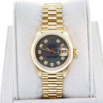 Rolex Datejust 69178 18K Gold Tahitian Mother of Pearl Diamond...
