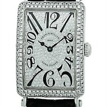 "Franck Muller Lady's 18K White Gold  Diamond ""Long..."