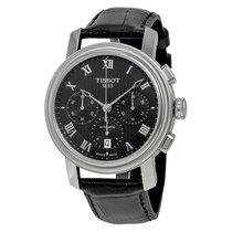 Tissot Bridgeport Automatic Chronograph Black Dial Black...
