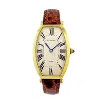 Cartier Paris 18k Yellow Gold Tonneau