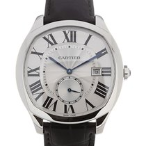Cartier Drive 40 Automatic Black Leather