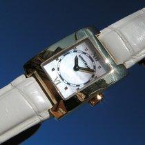 Montblanc Profile Lady Watch 7063 Pl298101 Gold 750 18k Mop Gg