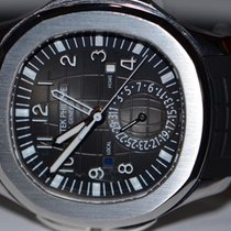 Patek Philippe Aquanaut Dual Time Stainless Steel Automatic