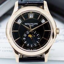 Patek Philippe 5205R-010 Annual Calendar Black Dial 18K Rose...