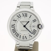 Cartier Ballon Bleu Steel Automat Date (BOX2014) 42mm MINT