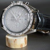 Omega Speedmaster 18kt Weißgold Broad Arrow Chronograph