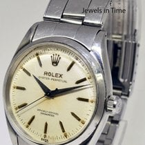 Rolex Vintage Oyster Perpetual Automatic Mens Steel Watch...