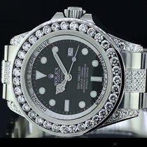 Rolex Official Rolex Watch Sea Dweller 116660 - Diamond Bezel,...