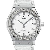 Hublot Classic Fusion 542.NE.2010.LR.1204 White Index Diamond...