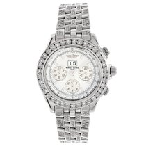 Breitling Windrider Crosswinds Special Iced Out 9.00ct. Diamonds