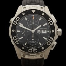 TAG Heuer Aquaracer Chronograph Calibre 16 Stainless Steel...