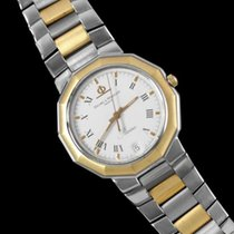 Baume & Mercier Mens Riviera Two-Tone Watch - Stainless S...