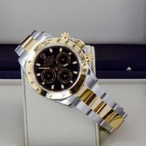 Rolex Daytona Two-Tone Black dial 116523