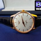 Longines Flagship Heritage Mens rose gold