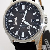 Citizen World Perpetual Eco-Drive Solar Funkuhr