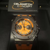 Audemars Piguet Orange Diver Royal Oak Offshore Chronograph