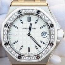 Audemars Piguet Royal Oak Offshore 37mm White Dial Diamond...
