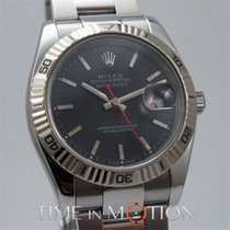 Rolex Perpetual Datejust Turn-O-Graph 116264 Noire Full Set