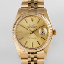 "Rolex Datejust Yellow Gold ""Box & Papers"""
