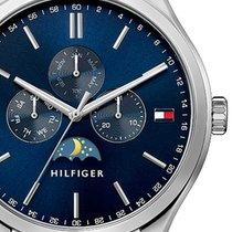 Tommy Hilfiger 1791302 Sport Luxury Multifunktion Herren 43mm...