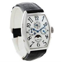 Franck Muller Casablanca Perpetual Calendar Platinum Watch...