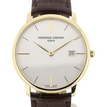 Frederique Constant Slim Line 38 Quartz Yellow Gold