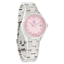 TAG Heuer Carrera Ladies Diamond Swiss Quartz Watch WV1417.BA0793